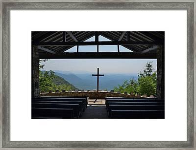 Sanctuary Framed Print by Bob Sample