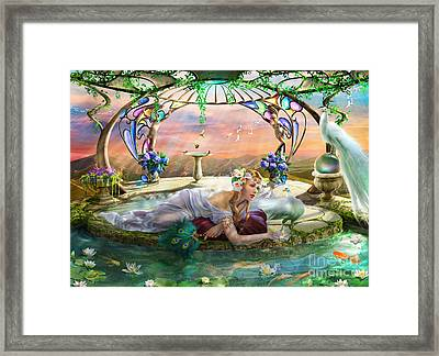 Sanctuary Framed Print by Drazenka Kimpel