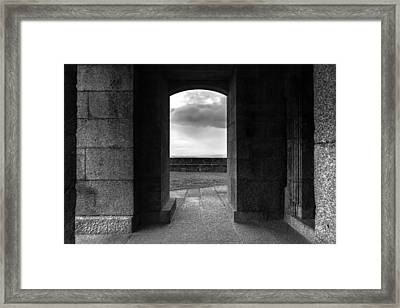 Framed Print featuring the photograph Sanctuary by Edgar Laureano