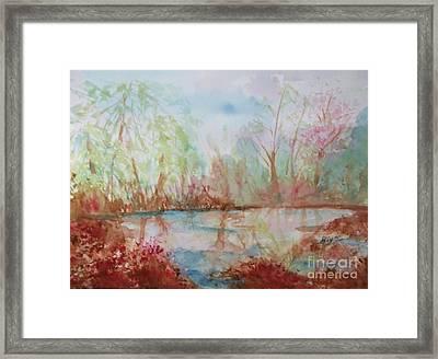 Sanctuary Framed Print by Ellen Levinson