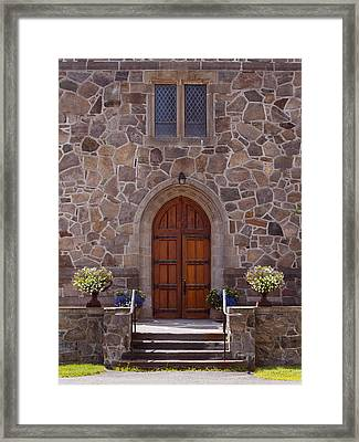 Sanctuary Framed Print by John M Bailey