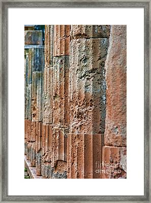 Sanctuary Of Artemis Framed Print by Gabriela Insuratelu