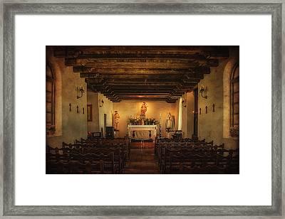 Sanctuary Framed Print by Priscilla Burgers