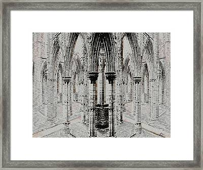 Sanctuary Framed Print by Stephanie Grant