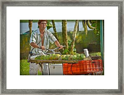 Sand Bar Island Framed Print by Gary Keesler