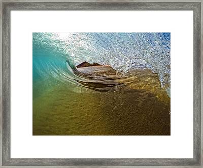 Sand Bar Room Framed Print by Brad Scott