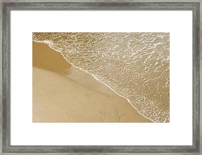 Sand Beach Framed Print