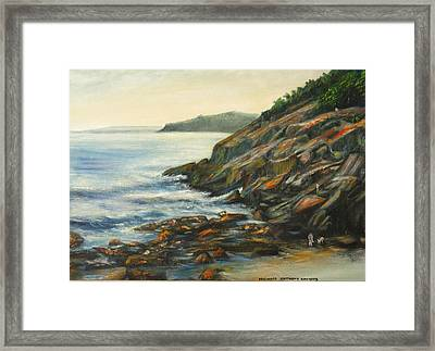 Sand Beach Framed Print
