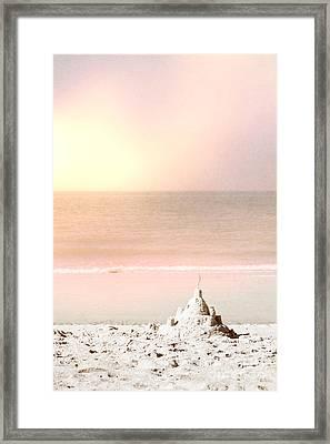 Sand Castle Framed Print by Margie Hurwich