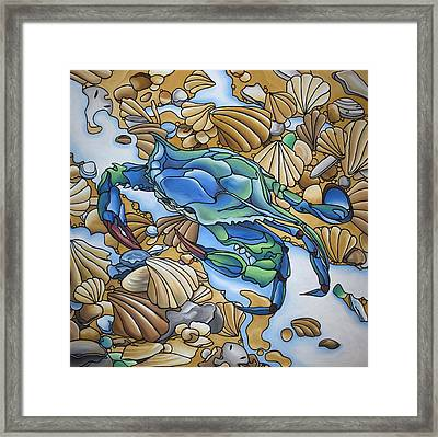 Blue Sally  Framed Print