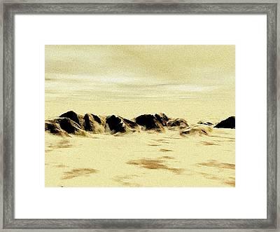 Sand Desert Framed Print by Anastasiya Malakhova