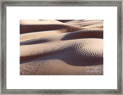 Sand Dunes 1 Framed Print by Delphimages Photo Creations