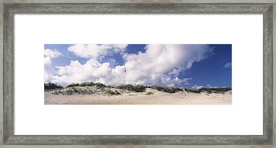 Sand Dunes, Cape Hatteras National Framed Print by Panoramic Images