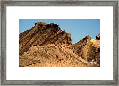 Sand Dunes In Capital Reef Framed Print by Eva Kato