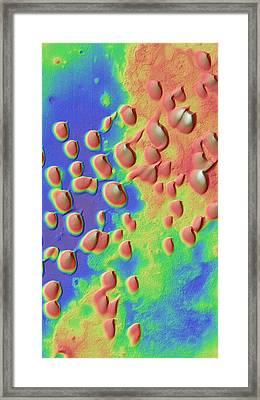 Sand Dunes Framed Print