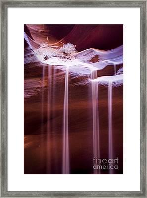 Sand Flow Framed Print
