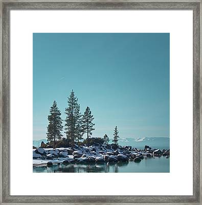 Sand Harbor-lake Tahoe Framed Print by Kim Hojnacki