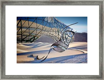 Sand Incarnations With Dali Framed Print