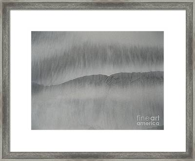 Sand Lips Framed Print