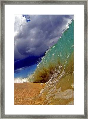 Sand Monster Framed Print