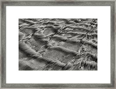 Sand Patterns 1 Framed Print