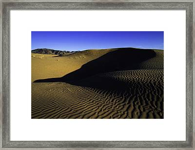 Sand Ripples Framed Print by Chad Dutson
