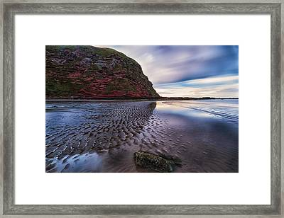 Sand Ripples Framed Print