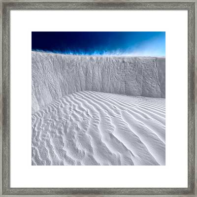 Sand Storm Brewing Framed Print by Julian Cook