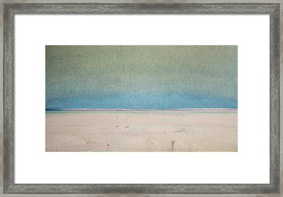 Sand Swept Framed Print