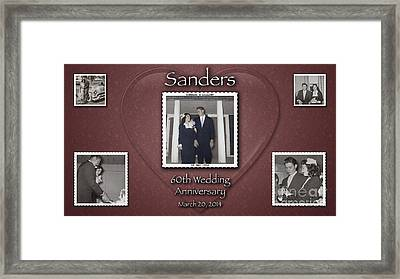 Sanders 60th Anniv Framed Print