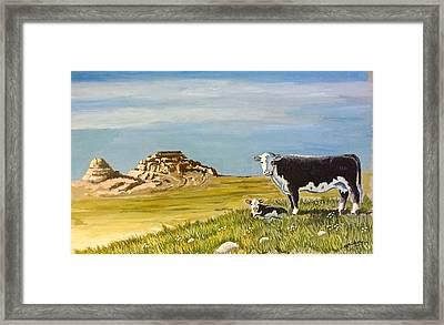 Sandhills Spring Framed Print