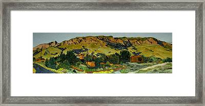 Sandia Heights Framed Print