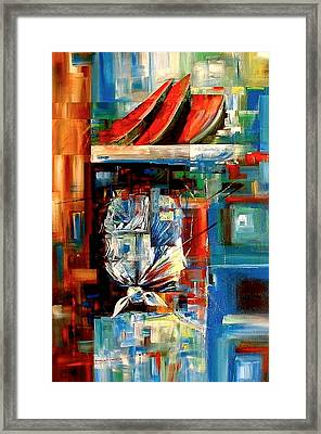 Sandia Framed Print by Laurend Doumba