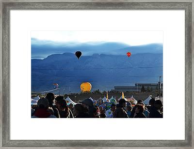 Sandia01 Framed Print
