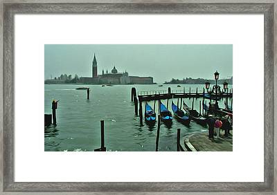 Framed Print featuring the photograph Sanding By by Brian Reaves