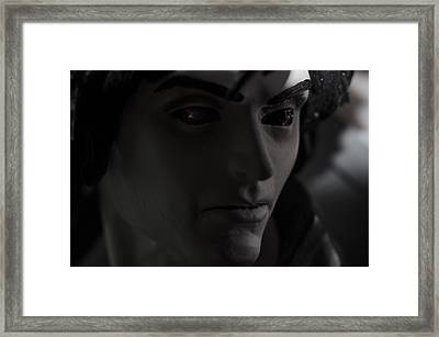 Sandman Portrait - Morpheus Framed Print by Jim Shackett