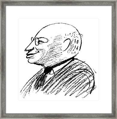 Sandor Ferenczi (1873-1933) Framed Print