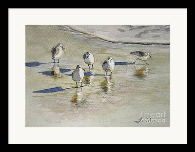 Watercolor Card Framed Prints