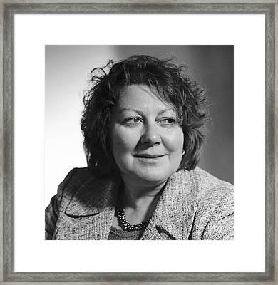 Sandra Chapman Framed Print by Lucinda Douglas-menzies