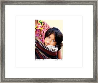 Sandra Marisela Perez Framed Print by Tina Manley