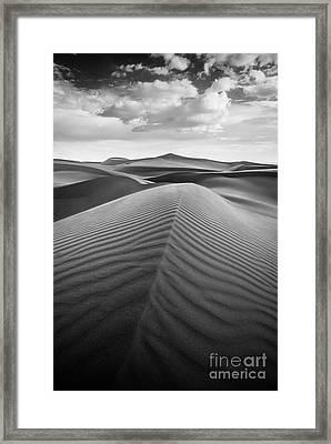 Sands Of Time Framed Print by Alexander Kunz
