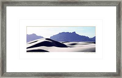 Purple Sands Mountains Majestic Framed Print by Jack Pumphrey
