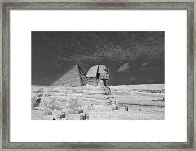 Sands Of Time Framed Print by Cassandra Buckley