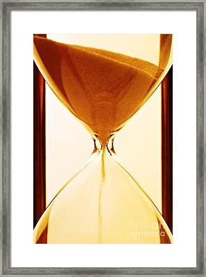 Sands Of Time Framed Print by Colin and Linda McKie