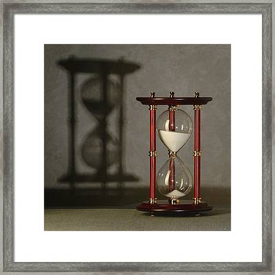 Sands Of Time Framed Print
