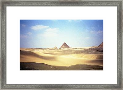 Sands Of Time Framed Print by Robert  Moss