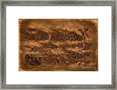 Sands Of Time Framed Print by The Stone Age