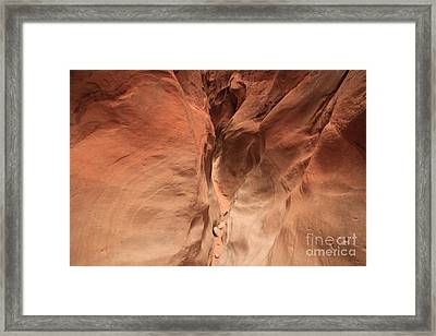 Sandstone Abyss Framed Print by Adam Jewell
