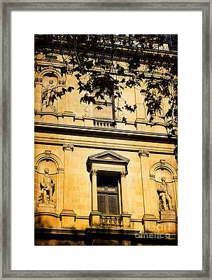 Sandstone Architecture - Characteristic Of Sydney Australia Framed Print