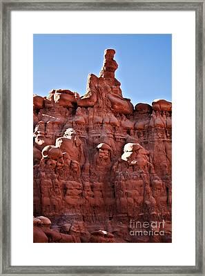 Sandstone Goblin Valley Framed Print